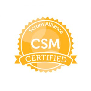 IT Outsourcing Informatique Certifications Certified Scrum Master CSM