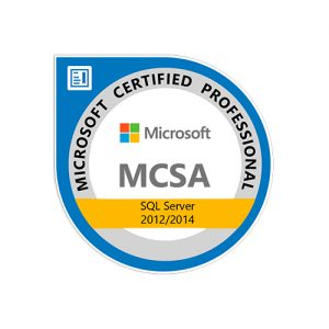 IT Outsourcing Informatique Certifications Microsoft Certified SQL Server Database Certification