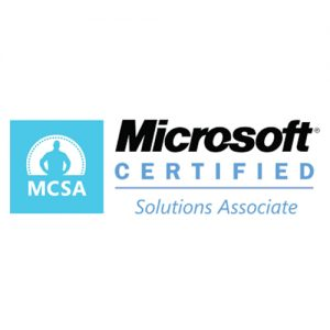 IT Outsourcing Informatique Certifications Microsoft Certified Solution Associate MCSA