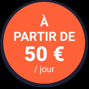 ITStacks Outsourcing Informatique Pastille 50 Jour