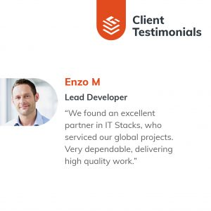 IT Outsourcing Informatique Client Testimonial Enzo 02