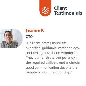 IT Outsourcing Informatique Client Testimonial Jeanne 03