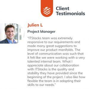 IT Outsourcing Informatique Client Testimonial Julien 05