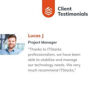 IT Outsourcing Informatique Client Testimonial Lucas 01