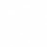 IT Outsourcing Fintech Icon Security Risk white bold